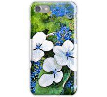 Blue Wave - watercolour iPhone Case/Skin