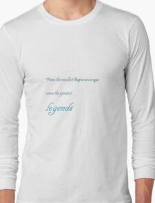 Hobbit Tagline Long Sleeve T-Shirt