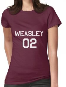 Weasley Quidditch team Womens Fitted T-Shirt