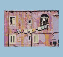 The Essence of Croatia - Pastel Houses of Dubrovnik T-Shirt