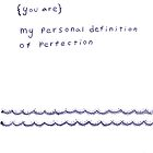 The Sketchbook Project - personal definitons by Dorothea Baker