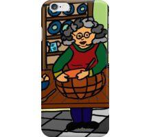 BAKING WITH GRANDMA iPhone Case/Skin