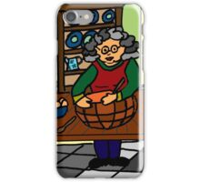 BAKING WITH GRANDMA iPhone Case/Skin