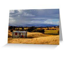The Wairau Plains Greeting Card