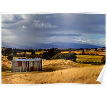 The Wairau Plains Poster