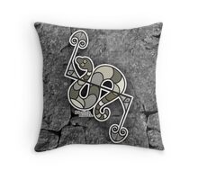 PICTISH ROOTS. Throw Pillow