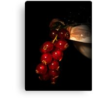 Fruity red Canvas Print