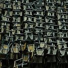 metal chairs by BrainCandy