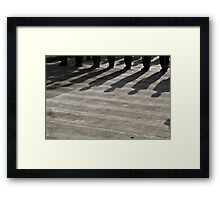 girl soldiers 2 Framed Print