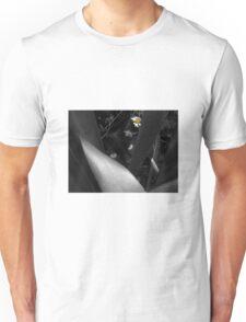 Lela in Black, White and YELLOW Unisex T-Shirt