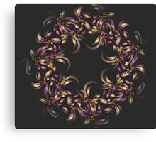Ribbon Wreath Canvas Print