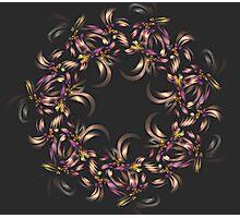 Ribbon Wreath Photographic Print