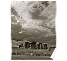 Stonehenge Three Poster