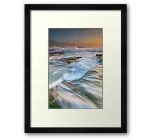 No Line On The Horizon Framed Print