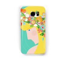 Flower Girl Samsung Galaxy Case/Skin