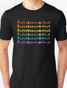 Rainbow Super Mario - Horizontal Version 1 T-Shirt