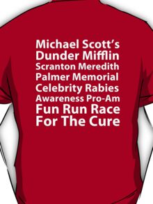 Dunder Mifflin Fun Run T-Shirt