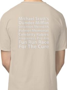 Dunder Mifflin Fun Run Classic T-Shirt