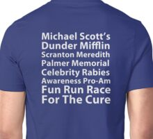 Dunder Mifflin Fun Run Unisex T-Shirt