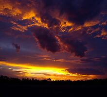 Country Sunset by Chris Kean
