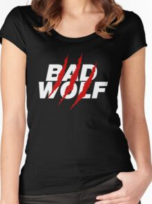 Bad Wolf Women's Fitted Scoop T-Shirt
