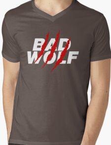 Bad Wolf Mens V-Neck T-Shirt