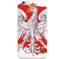 Polish Eagle Poland Outline iPhone Case/Skin