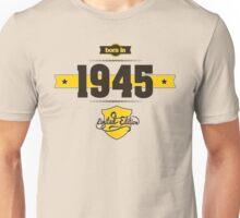 Born in 1945 (Choco&Yellow) Unisex T-Shirt
