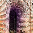 Brick Arch Entrance by James Zickmantel