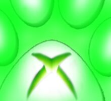 Xbox Paw Sticker
