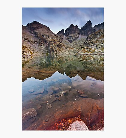 The Red Stone Photographic Print