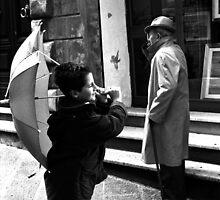 Flying umbrella... by Mauro Scacco