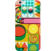 Wondercook Food Kitchen Pattern iPhone Case/Skin