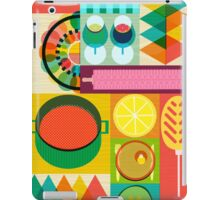 Wondercook Food Kitchen Pattern iPad Case/Skin