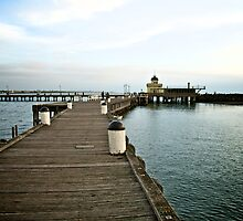 Moody St Kilda Pier by Renee Hubbard Fine Art Photography