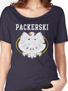 Packerski Wisconsin Polish Fan Women's Relaxed Fit T-Shirt