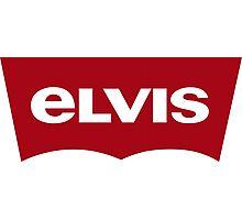 Red Label Elvis Photographic Print