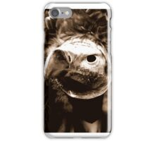 the stare of a vulture iPhone Case/Skin