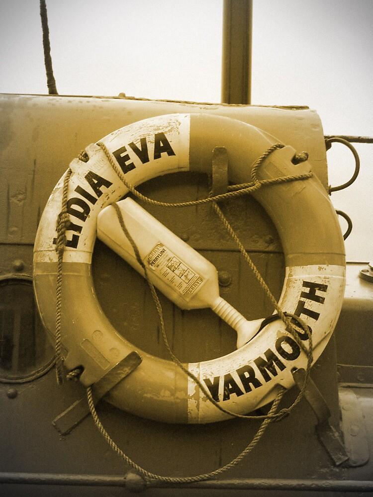 Lydia Eva Lifesaver Ring  by BeckiBee
