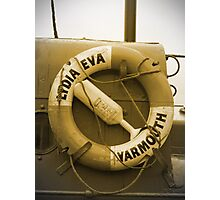 Lydia Eva Lifesaver Ring  Photographic Print