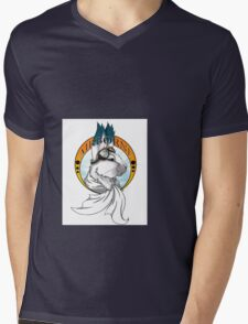 Airborne Mens V-Neck T-Shirt