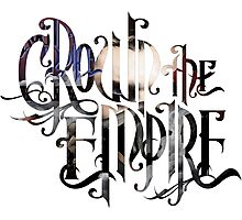 """Crown The Empire """"The Resistance: Rise of the Runaways"""" Logo Photographic Print"""