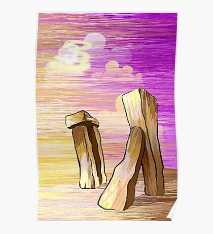 beauty of the pillar stones Poster