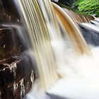 Chocolate Waterfall by Steve Chapple