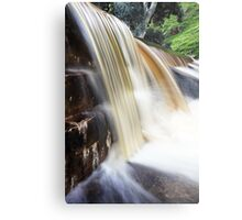 Chocolate Waterfall Metal Print