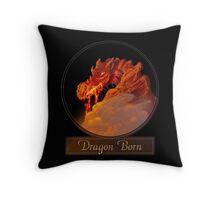 Dragon Born Throw Pillow