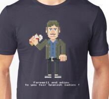 Quint VO - Jaws Pixel Art Unisex T-Shirt