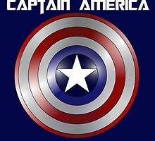 Captain America Graphic by Darlene Lankford Honeycutt