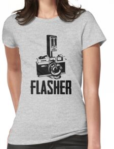 Flasher Camera Womens Fitted T-Shirt