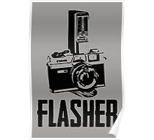 Flasher Camera Poster